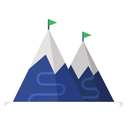 Erasmus Snow Week Mountain Icon